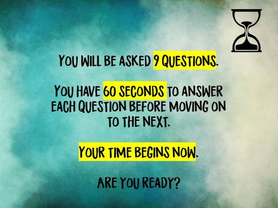 What Is Your Time Perception Based On How Fast You Answer These Questions?