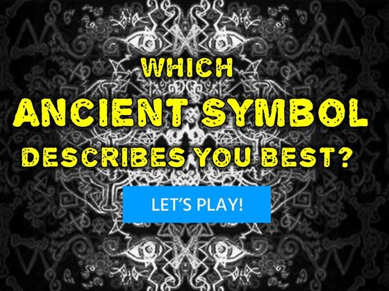 Which Ancient Symbol Describes You Best?