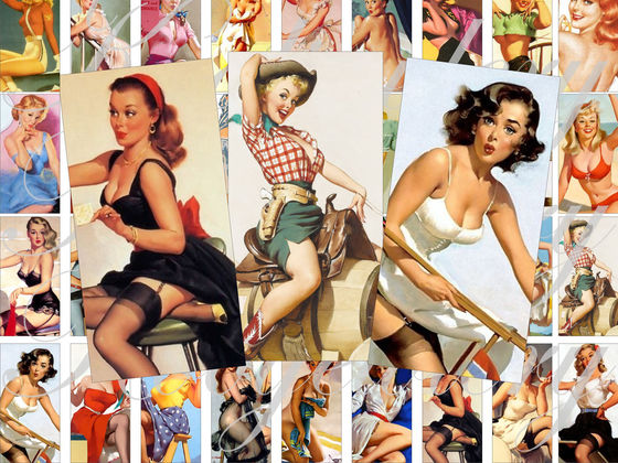 Which Classic Pinup Girl Are You?