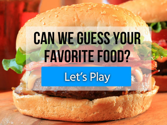 Can We Guess Your Favorite Food Playbuzz
