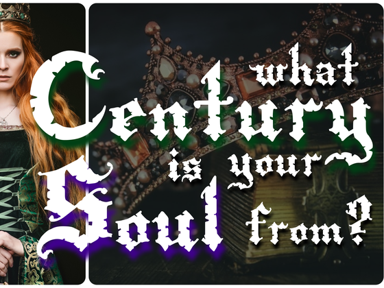What Century Is Your Soul From?