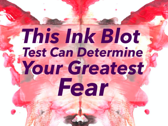 This Inkblot Test Can Determine Your Greatest Fear
