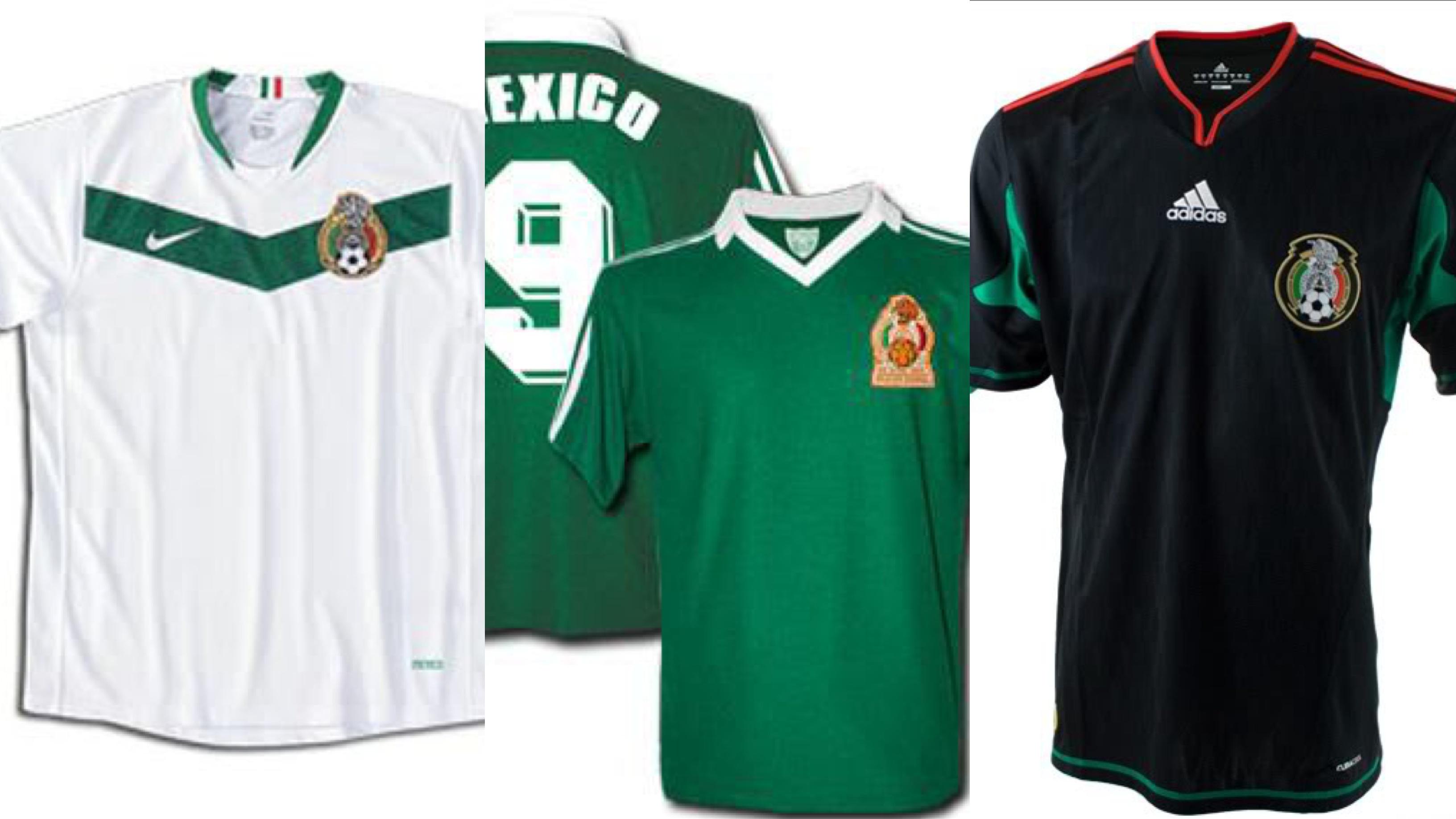 6664d5e35b6a5 ¿Cuál es la Jersey más bonita de la Selección Mexicana