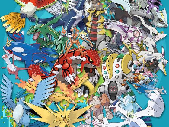 Which legendary pokemon are you playbuzz - Pokemon argent pokemon rare ...