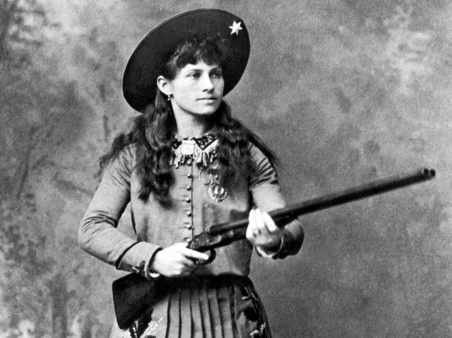 Little Sure Shot Annie Oakley (1860–1926)