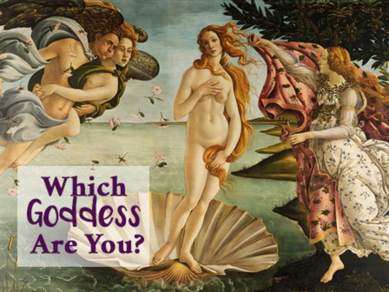 Which Ancient Goddess Are You?