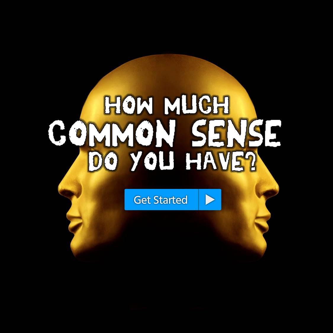 common sense quiz