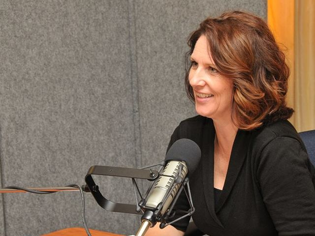 Dean of the College of International Studies, Suzette Grillot, Ph.D., has a podcast on KGOU. What is the name of the podcast?