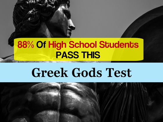 88% Of High School Students Pass This Greek Gods Test. Will You?