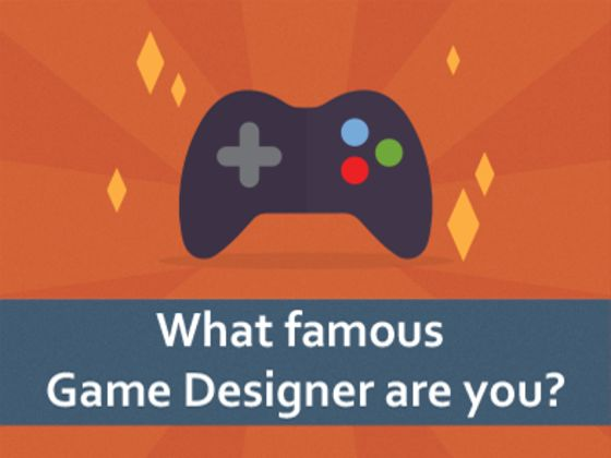 What famous Game Designer are you?