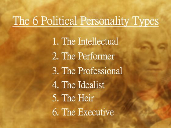 Which Of The 6 Political Personality Types Are You?