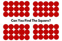 Can You Find The Square In Each Of These Patterns?