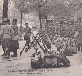 Le 1er mai 1906 : interdit!