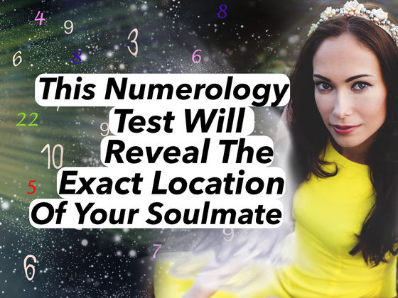 This Numerology Test Will Reveal The Exact Location Of Your Soulmate