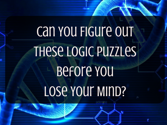 Can You Figure Out These Logic Puzzles Before You Lose Your Mind?