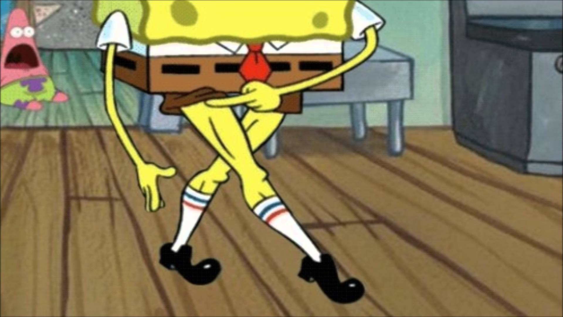 Ow My Leg Guy Spongebob