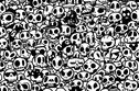 How Fast Can You Find The Panda Hidden in These Skulls?