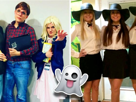 which group halloween costume should your clique wear this year