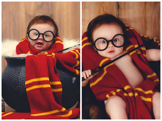 This 3-Month-Old Baby's Harry Potter Photo Shoot Is The Most Magical Thing You'll See Today!