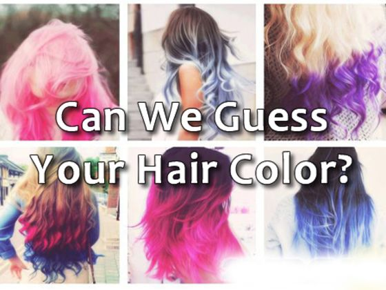 Ombre Hair Dye Colours
