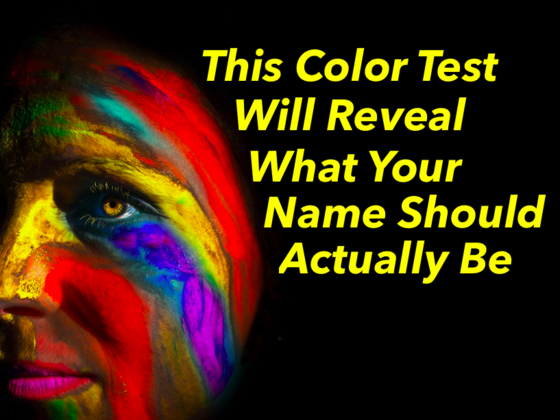 This Color Test Will Reveal What Your Name Should Actually Be