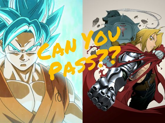 Can You Pass Anime: 101?