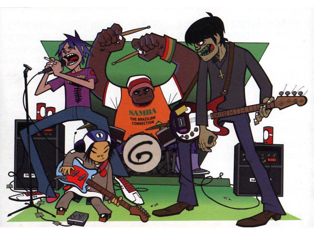 Image result for gorillaz phase one