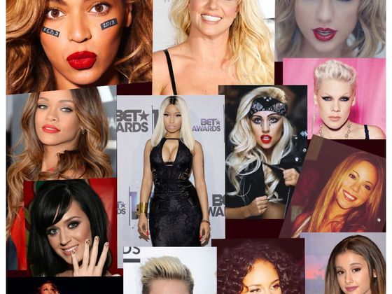 female Collage celebrities of