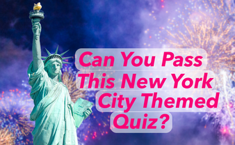 Can You Pass This New York City Themed Quiz?