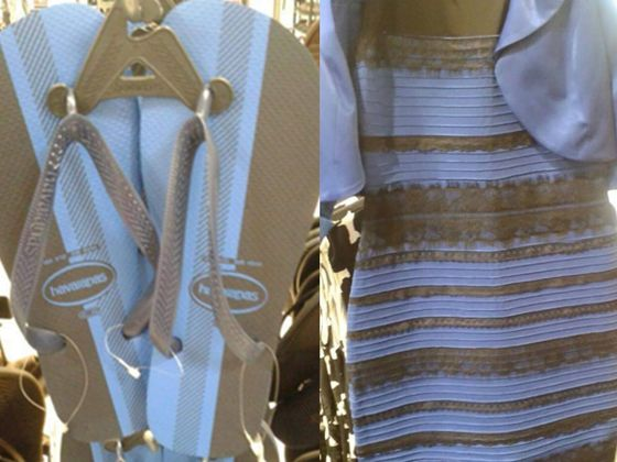 The Dress Is Back!! Are These Flip Flops White & Gold OR Black & Blue?