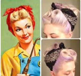 Bandannas are a must in any pinups wardrobe...