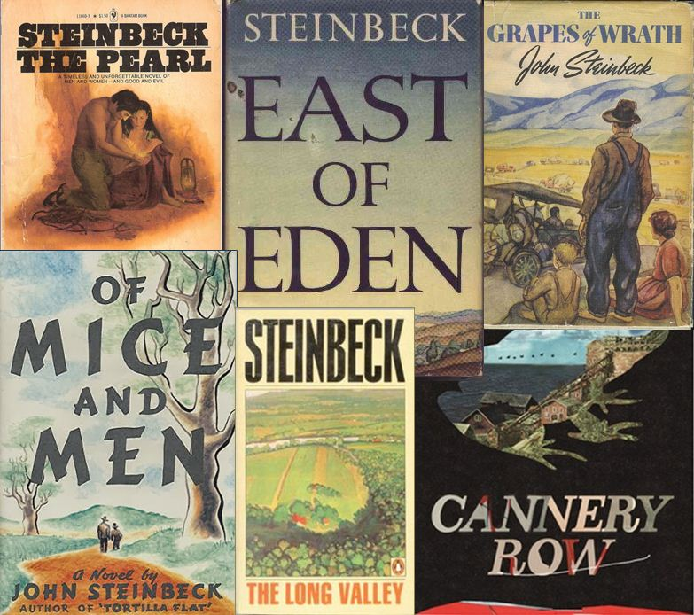 Image result for JOHN STEINBECK NOVELS