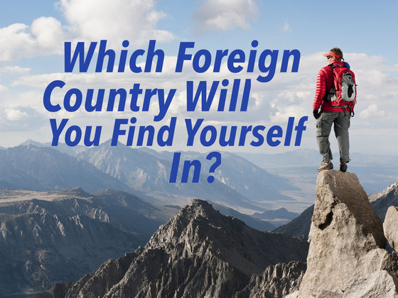 "Which Country Are You Most Likely To ""Find Yourself"" In?"