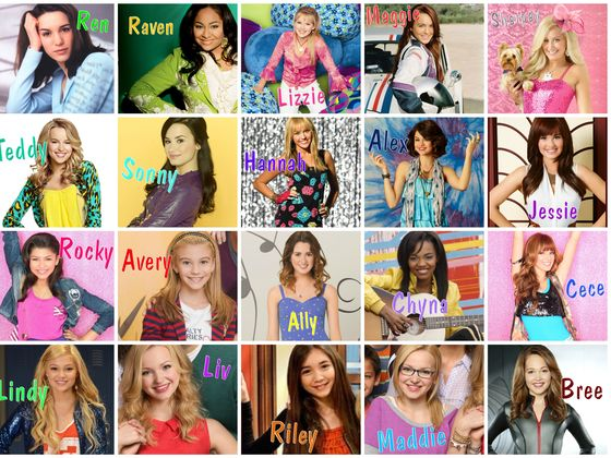 coloring pages disney channel characters - photo#35