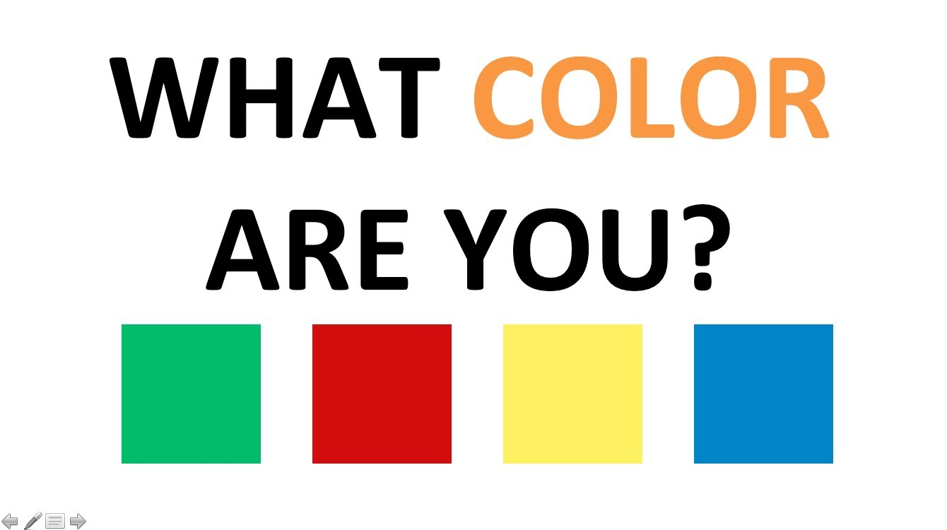 Quick Personality Test: What Color Are You? | Playbuzz