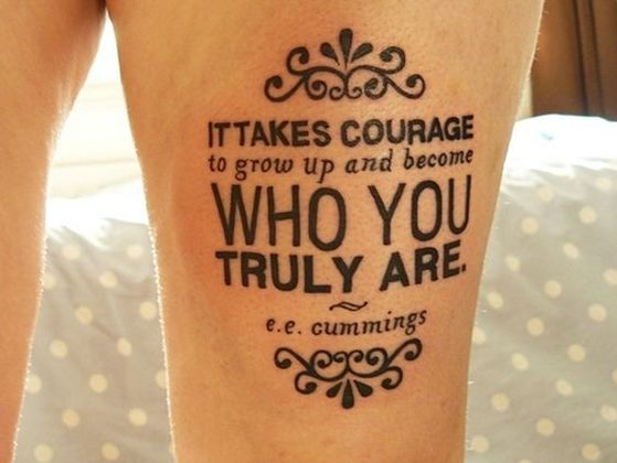 Which Meaningful Quote Tattoo Should You Get?