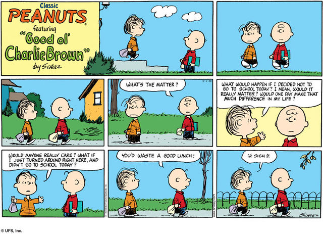 Image result for funny peanuts comic strips