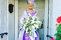 This 86 Year Old Grandma Got Married In An Awesome Dress She Designed Herself!