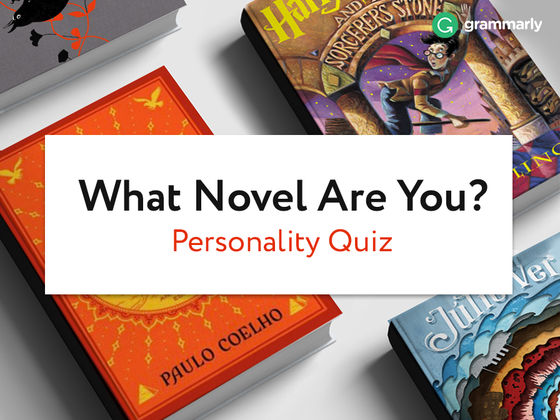 What Novel Are You? Personality Quiz