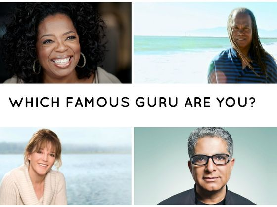 Which Famous Guru Are You?