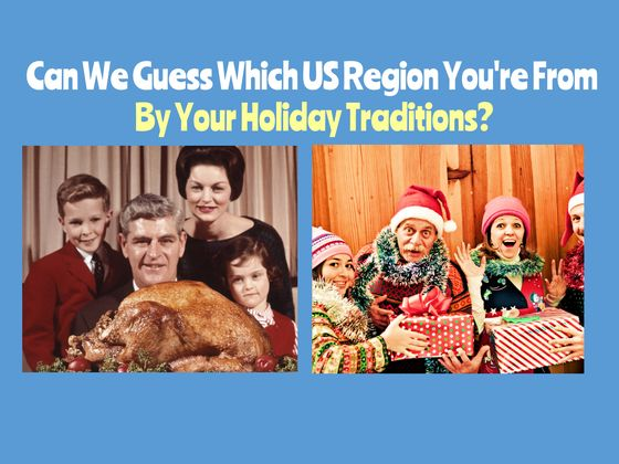 Can we guess which us region you 39 re from by your holiday for Top 10 christmas traditions in america