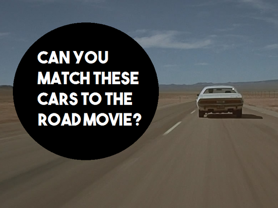 Can You Match These Cars To The Road Movie?