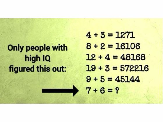 Only People With High IQ Can Solve These Equations