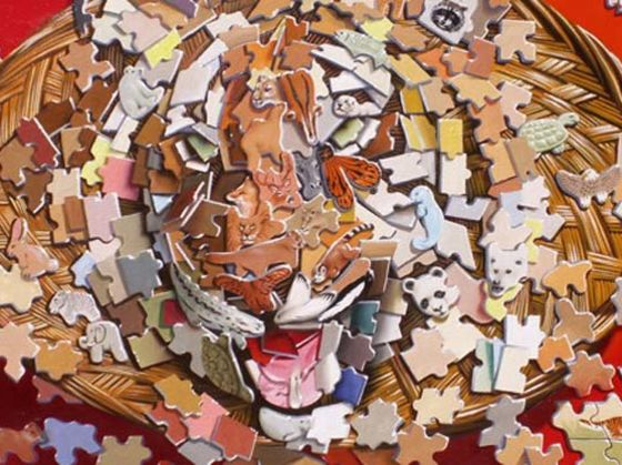 Can You See The Tiger Hidden In These Puzzle Pieces?