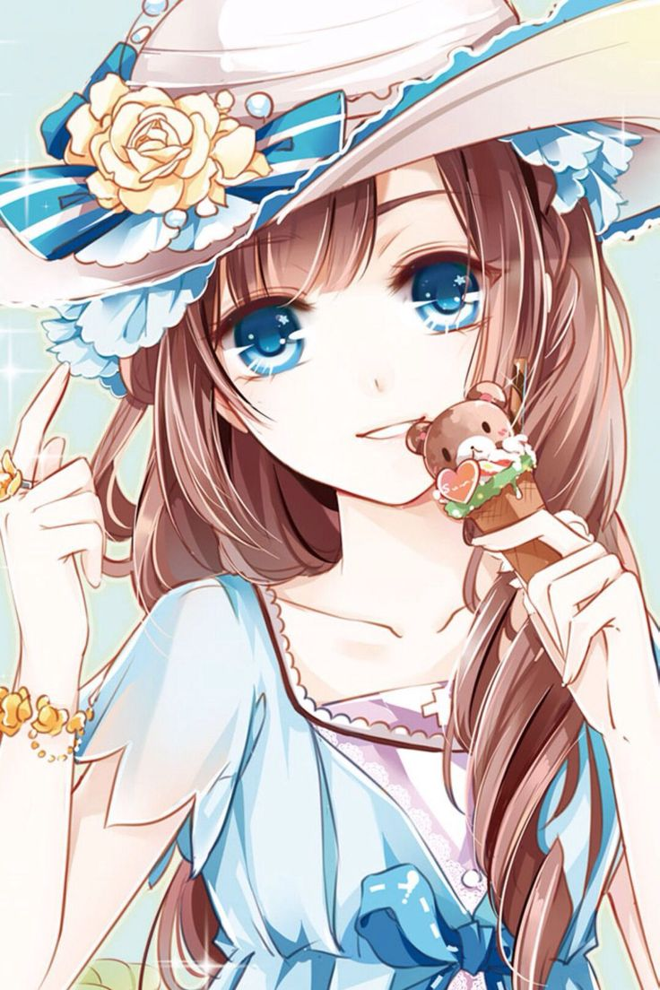 Anime Lover: Beautiful Anime Girl With Different Colored Eyes