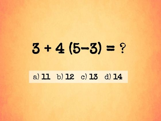 Research Shows Only 2% Of American Adults Can Pass 5th Grade Algebra. Can You?