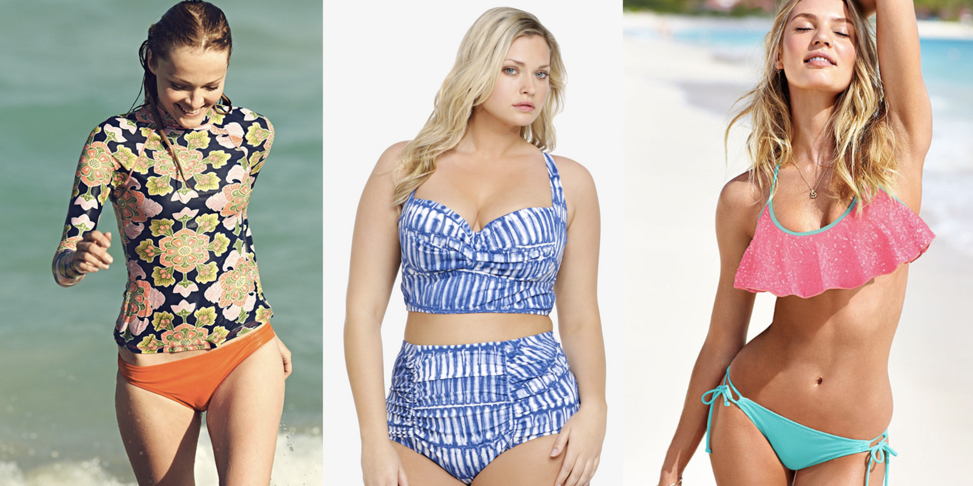 to wear - Swimsuits flattering for every body video