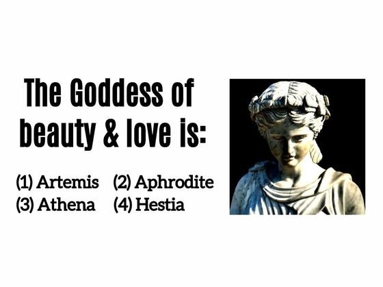 Can You Name  The Major Greek Gods And Goddesses?