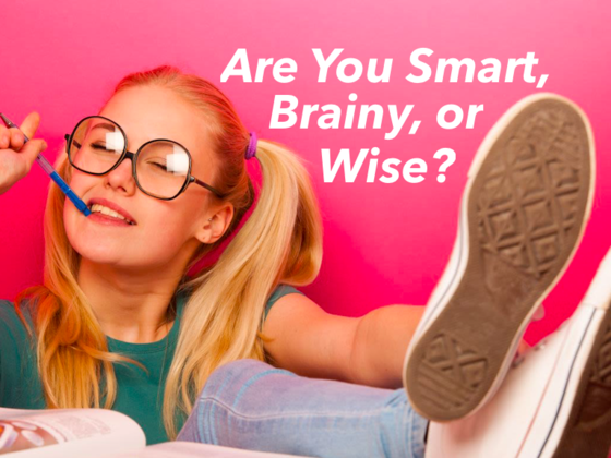 Are You Smart, Brainy or Wise?