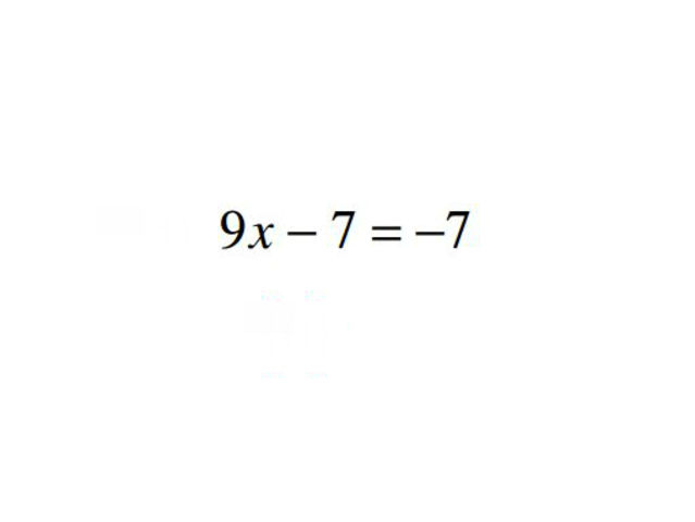 x = ?